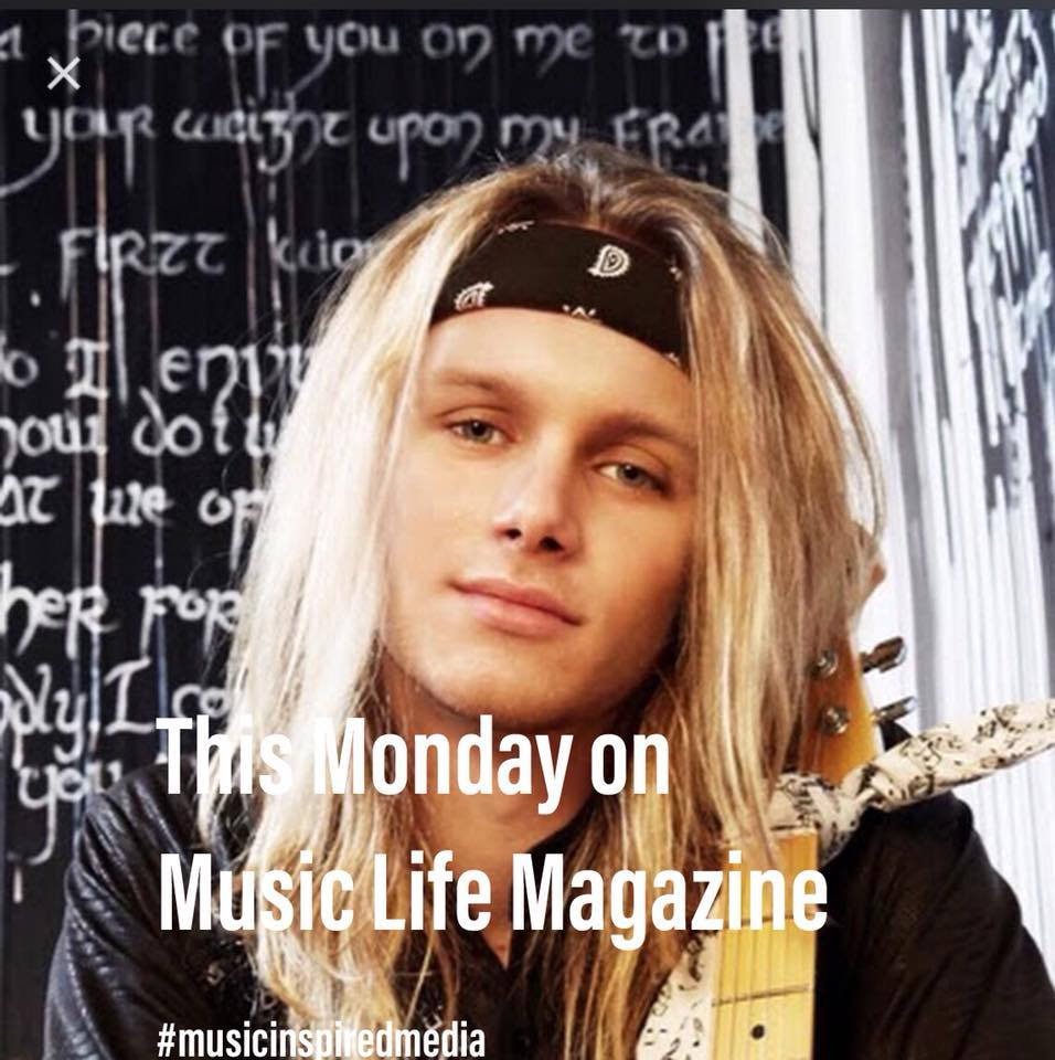 Lyric Dubee in Canadian Music Life Magazine