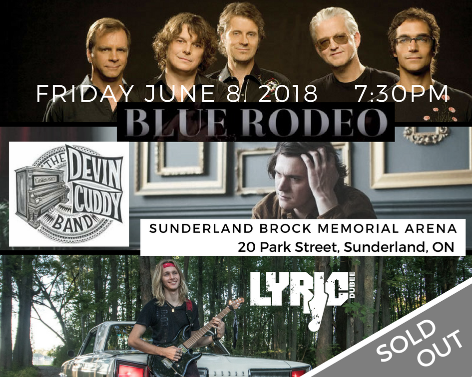 Lyric Dubee with Blue Rodeo