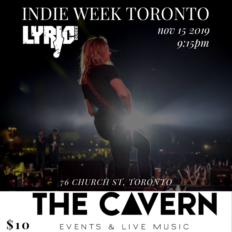 Lyric Dubee at indieweek 2019